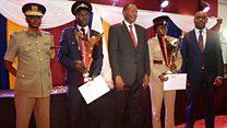 Abaalmarin la siiyay askarta booliska Kenya ee sida wanaagsan bulshada ugu adeegta