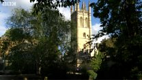 Magdalen's choir prepare for May Morning