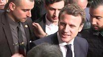 هک شدن ستاد انتخاباتی مکرون، یکی از دو نامزد انتخابات فرانسه