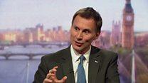 Hunt makes mental health election pledge