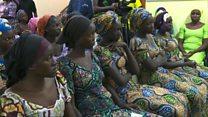 Kalli bidiyon 'yan matan Chibok da aka ceto