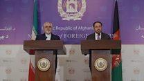 محمدجواد ظریف مهمان ارگ در کابل