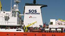 نجات حدود 6 هزار مهاجر در دریای مدیترانه در دو روز گذشته