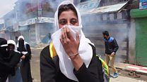 کشمیر میں مظاہروں کی شدت میں اضافہ
