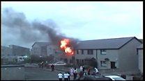 Firefighters tackle Fraserburgh blaze