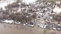Heavy floods hit Canadian city of Montreal