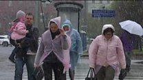 Маябрь в Москве: снег в российской столице 8 мая