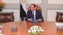 قانون الاستثمار المصري الجديد في يد السيسي