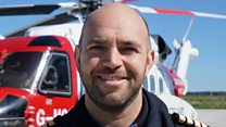 Helicopter pilot describes moment they found young surfer adrift at sea