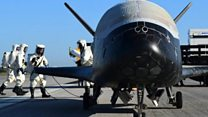 US space plane returns from secret mission