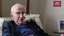 Veterano da 2ª Guerra, britânico de 105 anos ainda trabalha como médico – e conta seu segredo