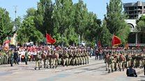 Кыргызстанда Жеңиш күнү майрамдалууда
