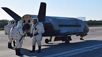 ABD'nin uzay uçağı gizli görevinden Dünya'ya döndü