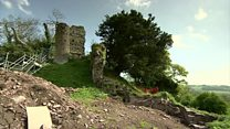 Hidden castle restored by villagers