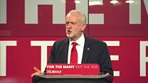 Corbyn warns of a 'reckoning to come'