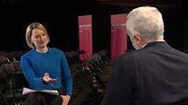 In full: Kuenssberg interview with Corbyn