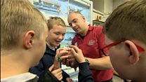 New feathered friends for upset pupils