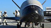 X-37B, el dron espacial de Estados Unidos que aterrizó tras una misteriosa misión de 2 años