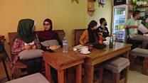 حانة بلا كحول للمفكرين في غزة