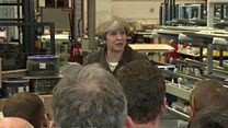 May agrees energy cap 'not very Conservative'