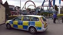 Mum's concern for Drayton Manor safety
