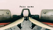 ما معنى عبارة fake news ؟