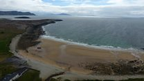 Irish beach reappears after more than 30 years