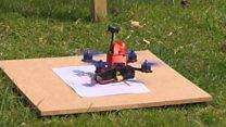 Перегони дронів: швидкість і складна траса