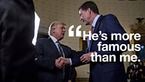 Trump's love-hate relationship with Comey