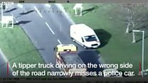 Wrong-way tipper truck driver jailed