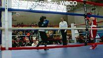 أمية ظافر..أول ملاكمة أمريكية محجبة