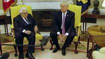 Trump says Comey was not doing 'good job'