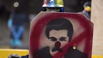 Venezuela crisis: 'I'm protesting for the freedom of the country'