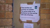 Shut ferry terminal toilets 'inconvenient'