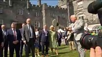 Prince Charles takes stick in Kilkenny