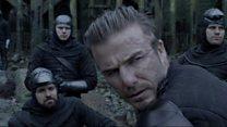 David Beckham makes big screen debut