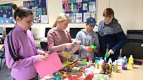 Art therapy helps excluded pupils