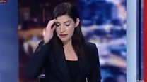 Телеведуча на ізраїльському ТВ мало не розплакалась