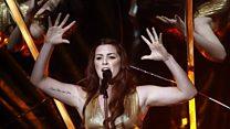 Lucie Jones shares Eurovision predictions