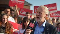 Labour: 'Corbyn would use military action'