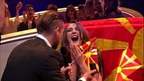 Live marriage proposal at Eurovision