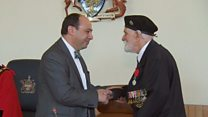 Légion d'Honneur for 99-year-old Don