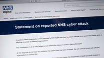NHS cyber-attack: 'Trusts will activate silver command'