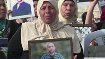 اسراييلو کې تر ۱۰۰ ډېرو فلسطيني بنديانو اعتصاب کړی