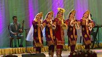 نمایش فرهنگ و هنر ازبک در تاجیکستان