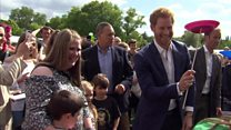 Children's party hosted at Buckingham Palace