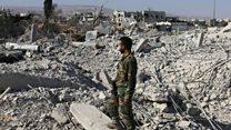 القوات الحكومية السورية  تتقدم في القابون وشرق حلب
