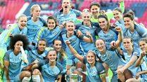 Man City thrash Birmingham City to win Women's FA Cup