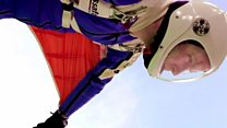 Wingsuit jumping record attempts