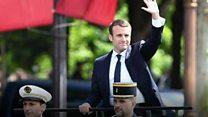 بالفيديو: تنصيب إيمانويل ماكرون رئيسا لفرنسا